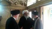 مشاور وزیر و دبیر ستاد همکاریها با آیت الله مظاهری دیدار کرد