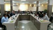 نشست دبیران  قطب 5 کشوری کمیته همکاری ها بر گزار شد