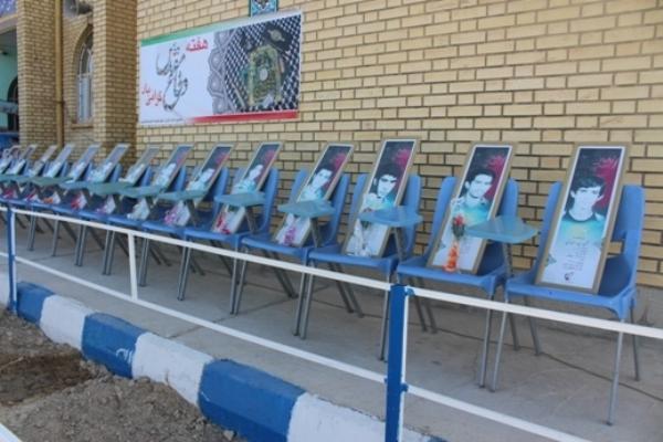 تقدیم 14  دانش آموز شهید از یک دبیرستان نماد بصیرت جوانان دهه شصت است