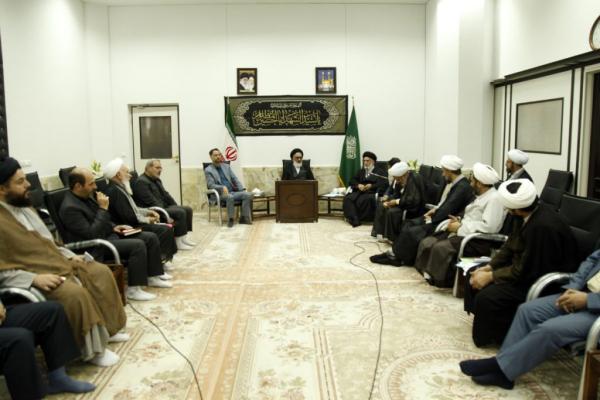 نشست کمیته همکاریهای حوزه و آموزش و پرورش استان قم  برگزار شد.