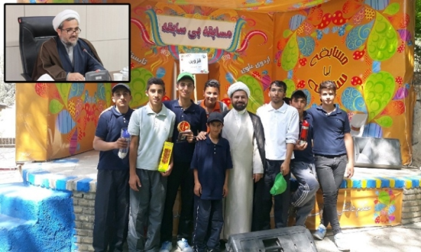 حضور دانشآموزان مناطق محروم در اردوی بنیاد علوی