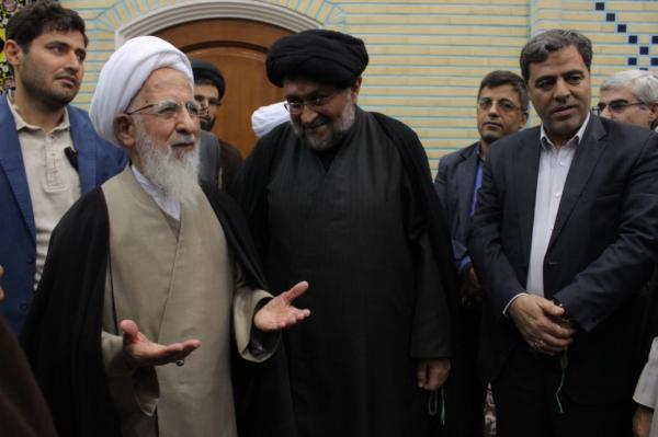 دیدار رئیس و هیئت رئیسه  دانشگاه شهید رجائی با آیت الله العظمی جوادی آملی