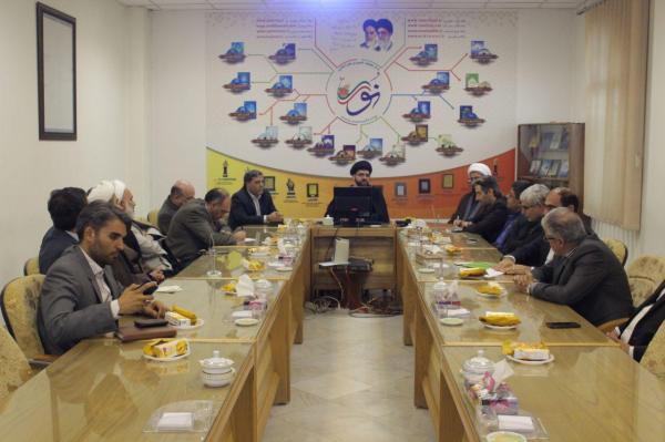 بازدید هیات رئیسه دانشگاه شهید رجائی از مرکز تحقیقات کامپیوتری علوم اسلامی (نور)