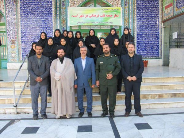 مسئولین فرهنگی شهرستان گالیکش با امام جمعه دیدار کردند