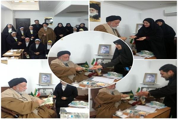 حال و هوای حضور حوزه و روحانیت در مدارس استان سمنان