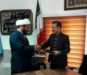 مدیران کل آموزش و پرورش و تبلیغات اسلامی کردستان تفاهم نامه همکاری امضا کردند