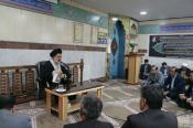 جلسه تفسیر قرآن توسط  نماینده ولی فقیه
