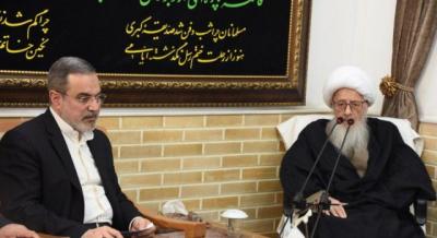 چند رسانهای/سفر وزیر آموزش و پرورش به منظور دیدار با علما و مراجع عظام تقلید