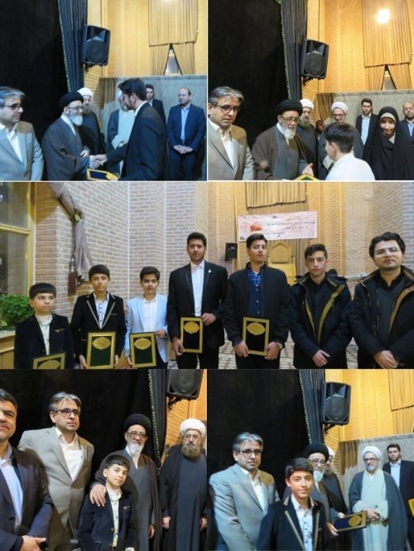 از دانش آموزان نخبه قرآنی شهرستان اسکو تجلیل شد