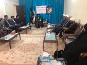 جلسه کمیته همکاری های حوزه علمیه و آموزش و پرورش مهران برگزار شد