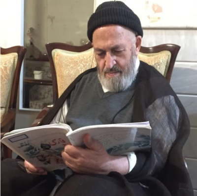 فارسی ۶ دبستان زیر ذره بین یک مرجع تقلید