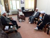 بازدید دبیر کمیته همکاریهای استان ایلام از حوزه علمیه صاحب الزمان(عج)