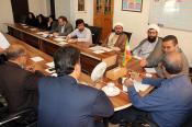 نشست مشترک  ستاد اقامه نماز و کمیته همکاریهای همدان