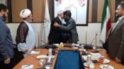 مدیر دفتر ستاد همکاریها در تهران تودیع شد