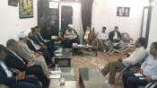 حضوردبیر کمیته همکاریهای استان هرمزگان در دفاتر ائمه جمعه شهرستانها