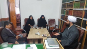 نشست دبیر کمیته همکاریهای آزادشهر با امام جمعه نگین شهر
