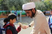 بازسازی موکب دانش آموزی  امام رضا علیه السلام در تهران