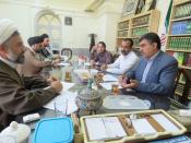 نشست مشترک  مسئولین  حوزه و آموزش و پرورش استان یزد
