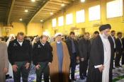 حضور امام جمعه اهواز در بین دانش آموزان باوی