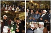 حضور دانش آموزان استان قزوین در جشن تلبس روحانیون