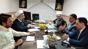 نشست مدیران حوزه علمیه یزد با معاونت پرورشی