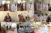 حضور امام جمعه محلات در بین دنش آموزان