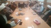 نشست مبلغین طرح تربیتی امین مدارس منطقه پردیسان استان قم برگزار شد