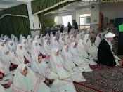مراسم جشن تکلیف دانش آموزان دختر مکلف با حضور یک امام جمعه