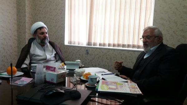 ظرفیت های همکاری دفتر تبلیغات اسلامی حوزه علمیه با ستاد همکاریها بررسی شد