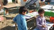 حضور طلاب جهادگر در مدارس مناطق سیل زده سیستان و بلوچستان