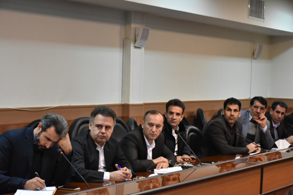 تصاویری از نشست کمیته همکاریهای استان کرمانشاه