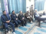 حضور معاون امور استان های ستاد همکاریها  درشهرستان بهارستان