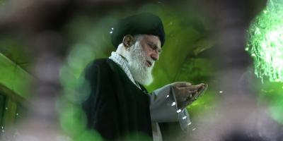 عکس / رهبر معظم انقلاب در مرقد مطهر امام خمینی ره