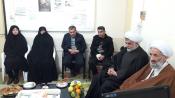 تصاویری ازحضور نماینده ولی فقیه در جمع فرهنگیان و دانش آموزان ساری