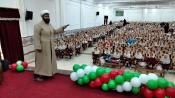 برنامه های جذاب دهه فجری  طلبه یزدی برای دانش آموزان به روایت تصویر