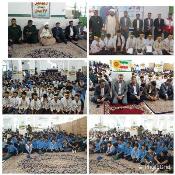 دانش آموزان رودانی  یاد معلم  مقاومت را گرامی داشتند