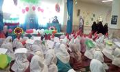 جشن انقلاب در مدارس قم برگزار شد