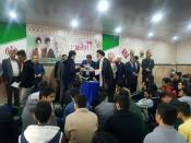 دیدارصمیمی نماینده ولی فقیه در خوزستان  با دانش آموزان اهوازی