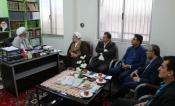 دیدار با مسئولین و بازدید  از کمیته های همکاری استان مازندران