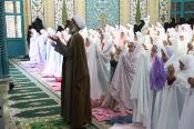 مراسم جشن تکلیف ۱۴۰۰ دانش آموز دختر ناحیه دو شهرکرد برگزار شد