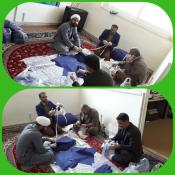 مبلغان مدارس امین در خط مقدم خدمات دهی به بیماران کرونایی