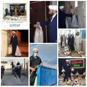 مشارکت مبلغان مدارس طرح امین آذربایجان شرقی در مقابله با کرونا