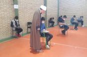 بازدید نایب رئیس کمیته همکاریها از روند برگزاری امتحانات خرداد
