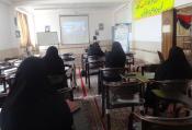 بانوان یزدی مدارس امین با «کلاسداری تبلیغی» آشنا شدند