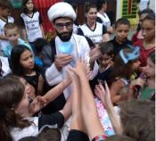تبلیغ دانش آموزی در آن سوی مرزها / نورافشانی مفاهیم اسلامی در کلیسای کاتولیک ها