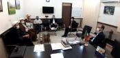 نشست مسئولین قرارگاه معراج خوزستان با معاون پرورشی و فرهنگی آموزش و پرورش استان