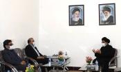 دیدار مدیرکل آموزش و پرورش استان ایلام با امام جمعه دهلران