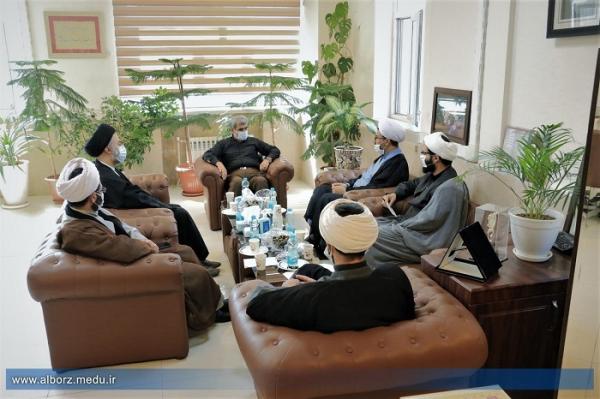 نحوه همکاری حوزه علمیه و آموزش وپرورش استان البرز در شبکه شاد