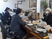 گزارش طرح امین با حضور معاونت تبلیغ حوزه های علمیه کشور