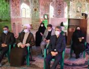 سوگواری شهادت حضرت زهرا سلام الله علیها درحرم امامزاده ای از جنس عباس علمدار